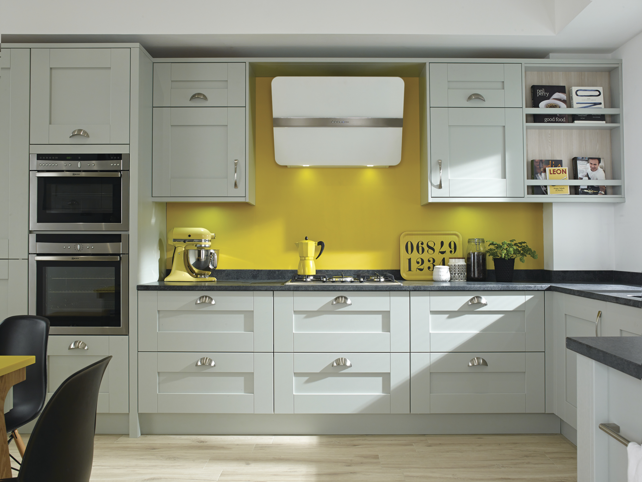 Milbourne £2660 - In porcelain, & other colour optionsFree Neff oven,hob,hood,Dishwasher+granite quarts £3000+installation £2400=Total £ 8060       Free Consultation!