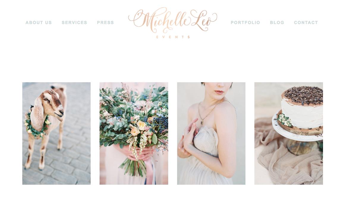 Logo | Michelle Leo Events