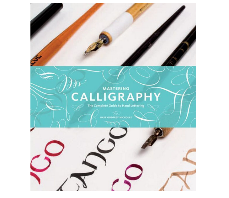 """Cover Image Lettering, """"Tango"""", Mastering Calligraphy by Gaye Godfrey-Nicholls"""