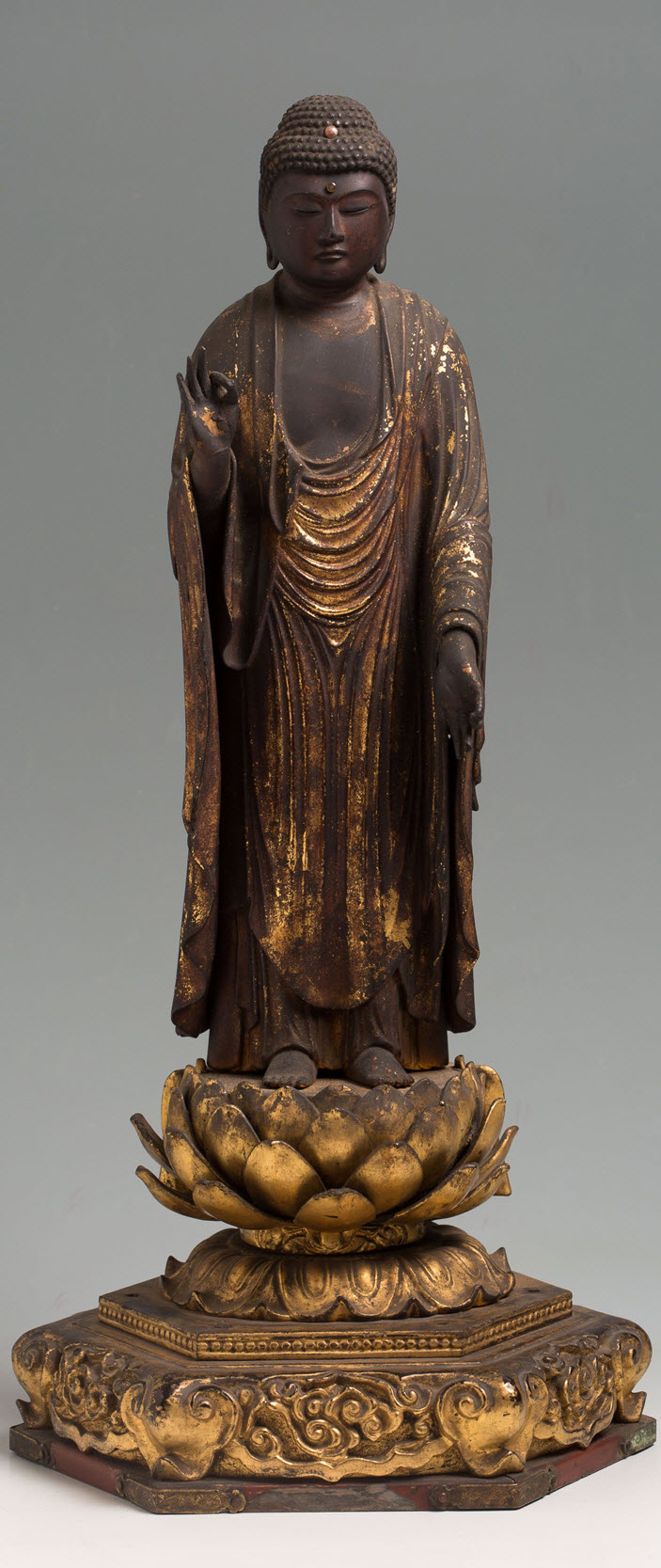 Statue of Amida Buddha -