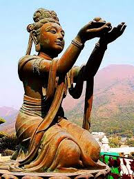 Dana   is the Buddhist virtue of selfless giving, one of the six perfections of the Bodhisattva.