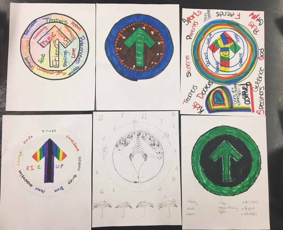 Program provided to schools that encourages high school students to think about the influences in their lives, identify which are positive and negative, and empowers students to choose which influences they will allow to affect them. Above The Influence utilizes classroom discussion and creative art projects for students to depict how they can stay above the influence.