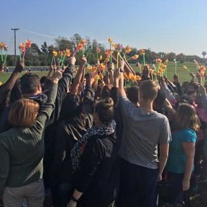 PINWHEEL PROJECTS - Hundreds of pinwheels are placed on school grounds representing underage youth who die each year due to alcohol. Especially around homecoming a prom times this is a powerful visual for students driving to and from school as they are challenged to celebrate well by staying sober!