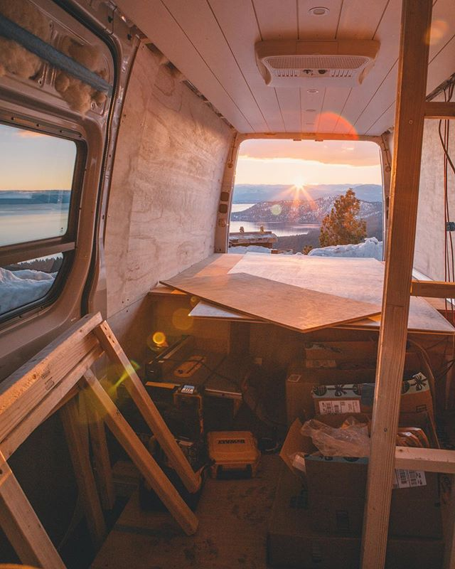 I think we're half way there.. www.activfilms.tv | #stayactiv #vanlife #vanconversion #sprintervan #activan #diy