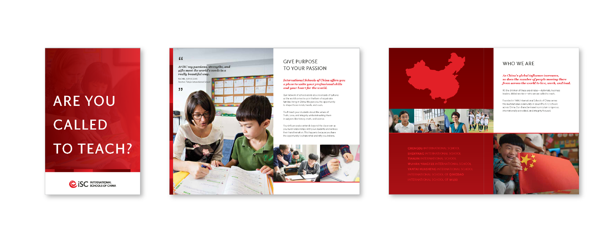 iSC's refreshed recruiting brochure