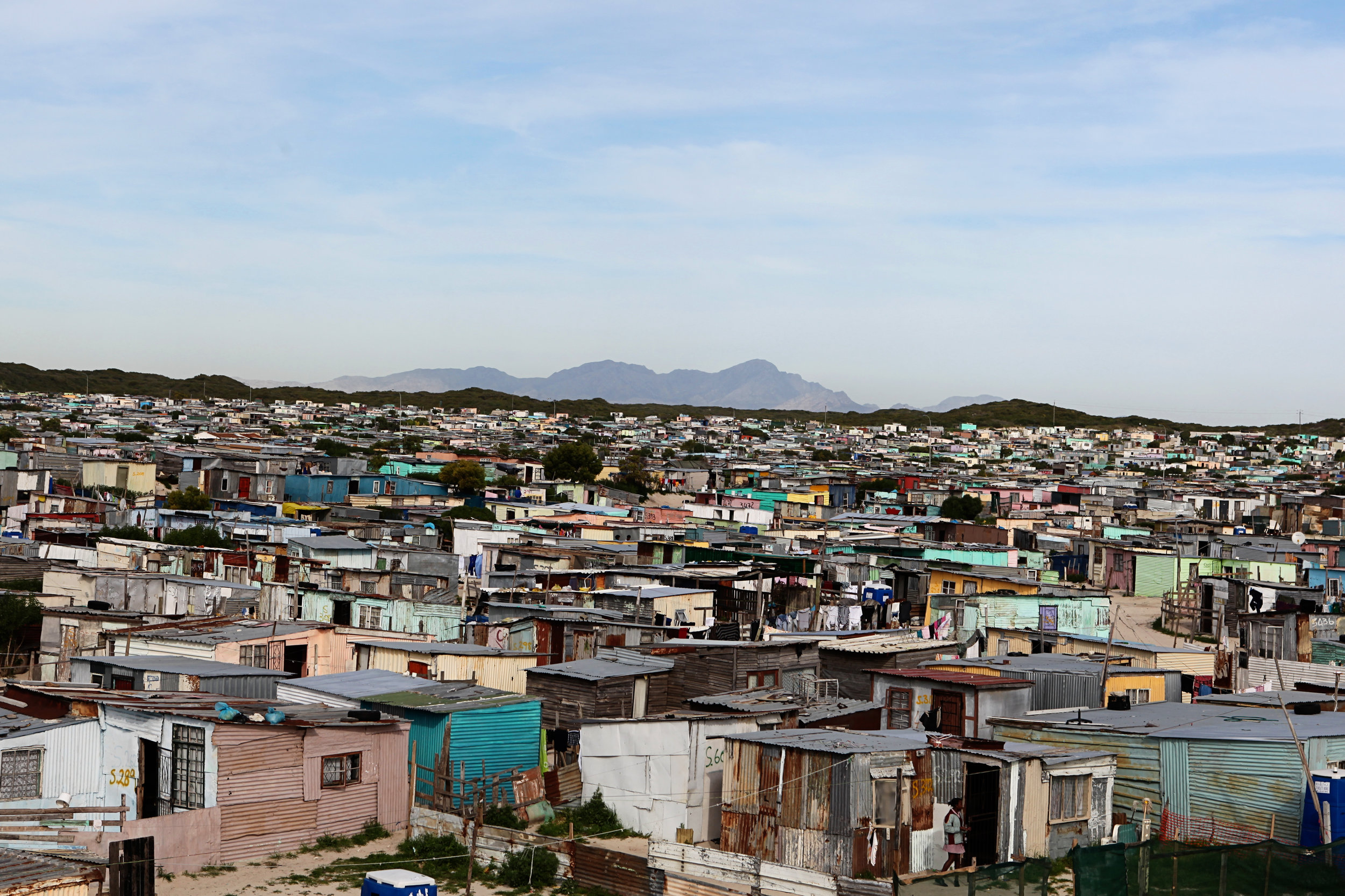 David shot this view of Cape Town, South Africa, while on a trip to serve AFMIN in 2011.