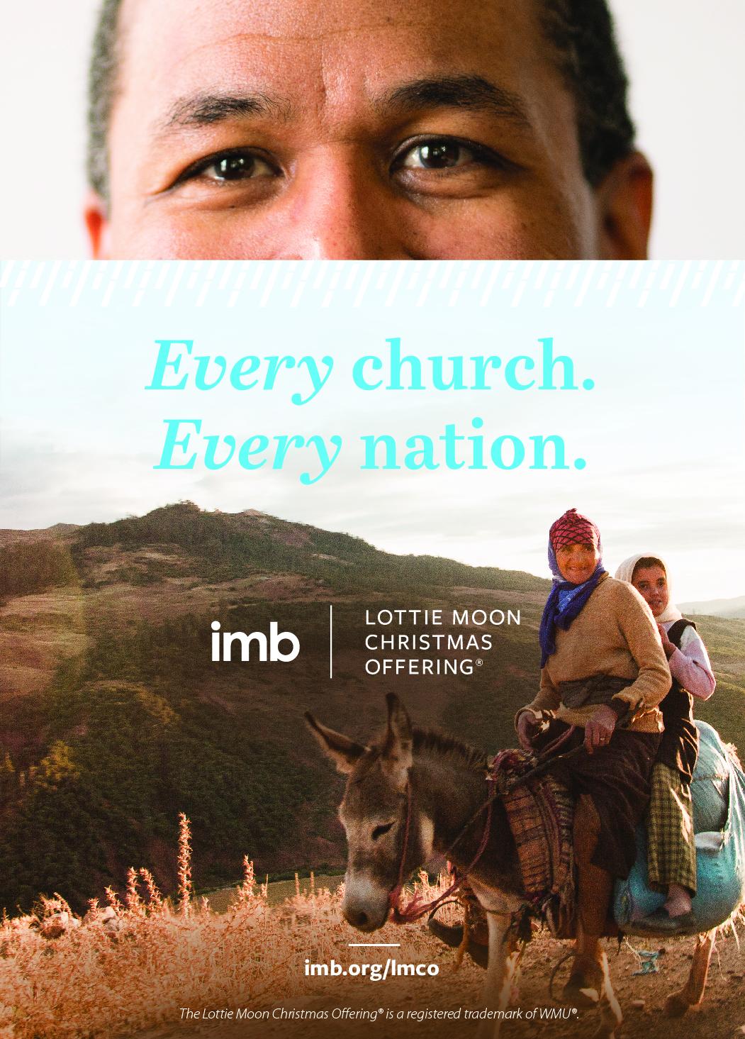 Lottie Moon Christmas Offering magazine ad