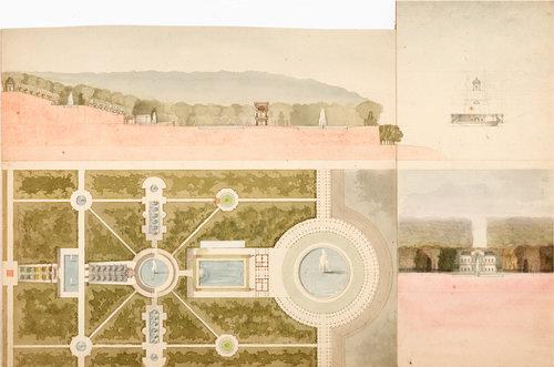 Architectural Drawings & Garden Designs — Victoria Munroe