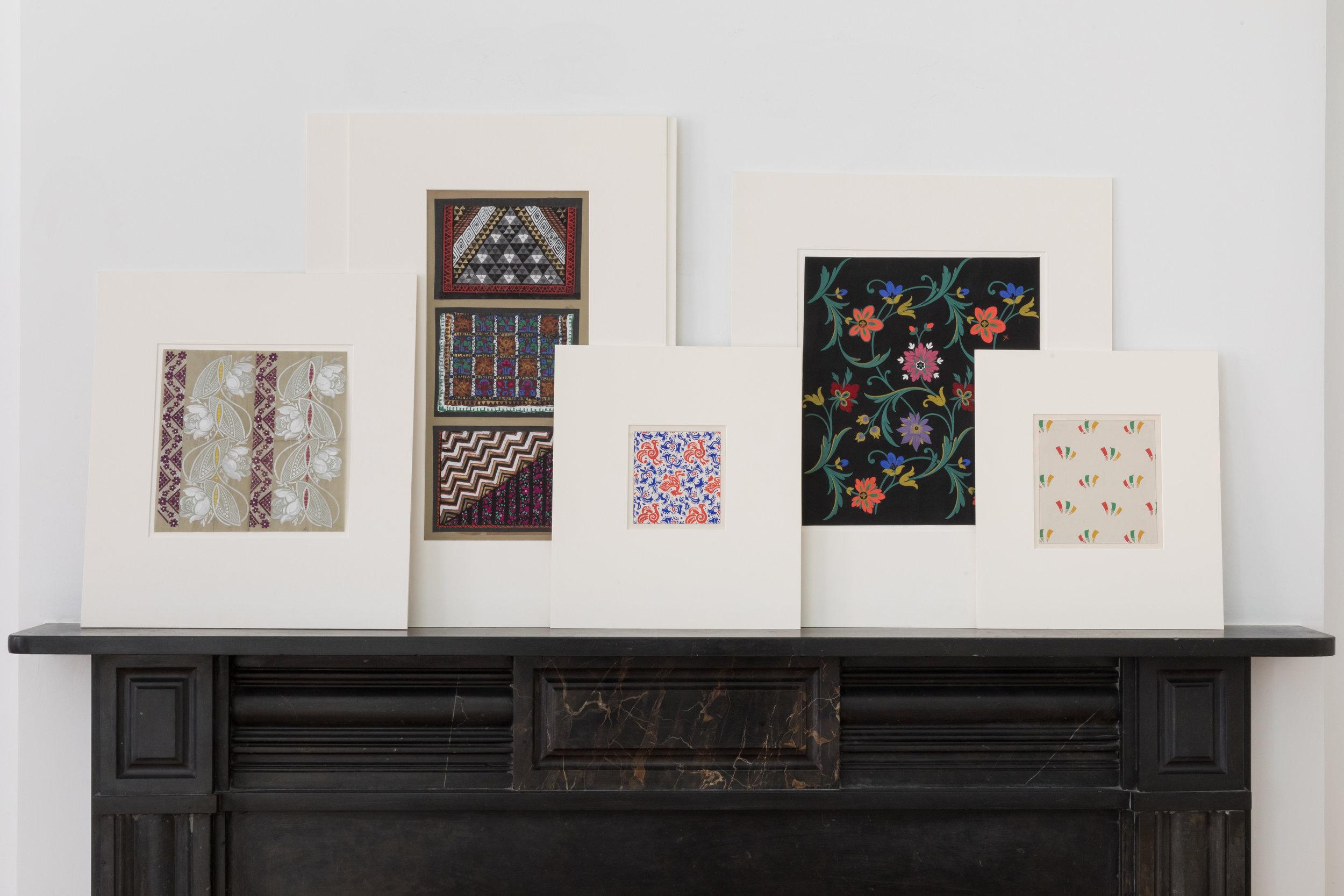 Decorative Arts Designs: Textile Designs