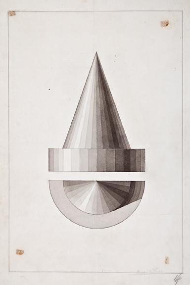 Engineering: Henri Puet,  Cone Studies,  19th century