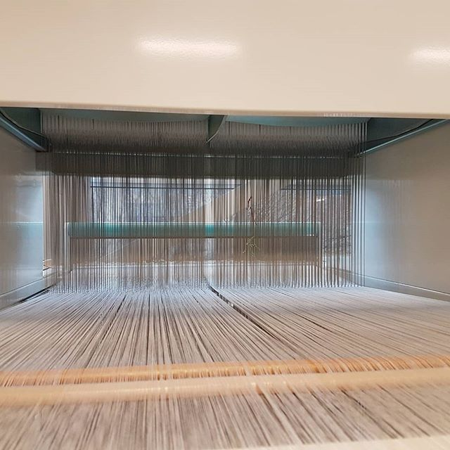 Since last year, we have had the incredible opportunity to bring a TC2 digital loom into the Sheridan Textiles Dept. Couldn't be more thrilled that we are integrating the TC2 into the program! @sheridantextiles  @digitalweavingnorway #tc2