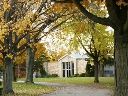 Our beautiful Chapel Mausoleum houses both indoor and outdoor cremation niches.