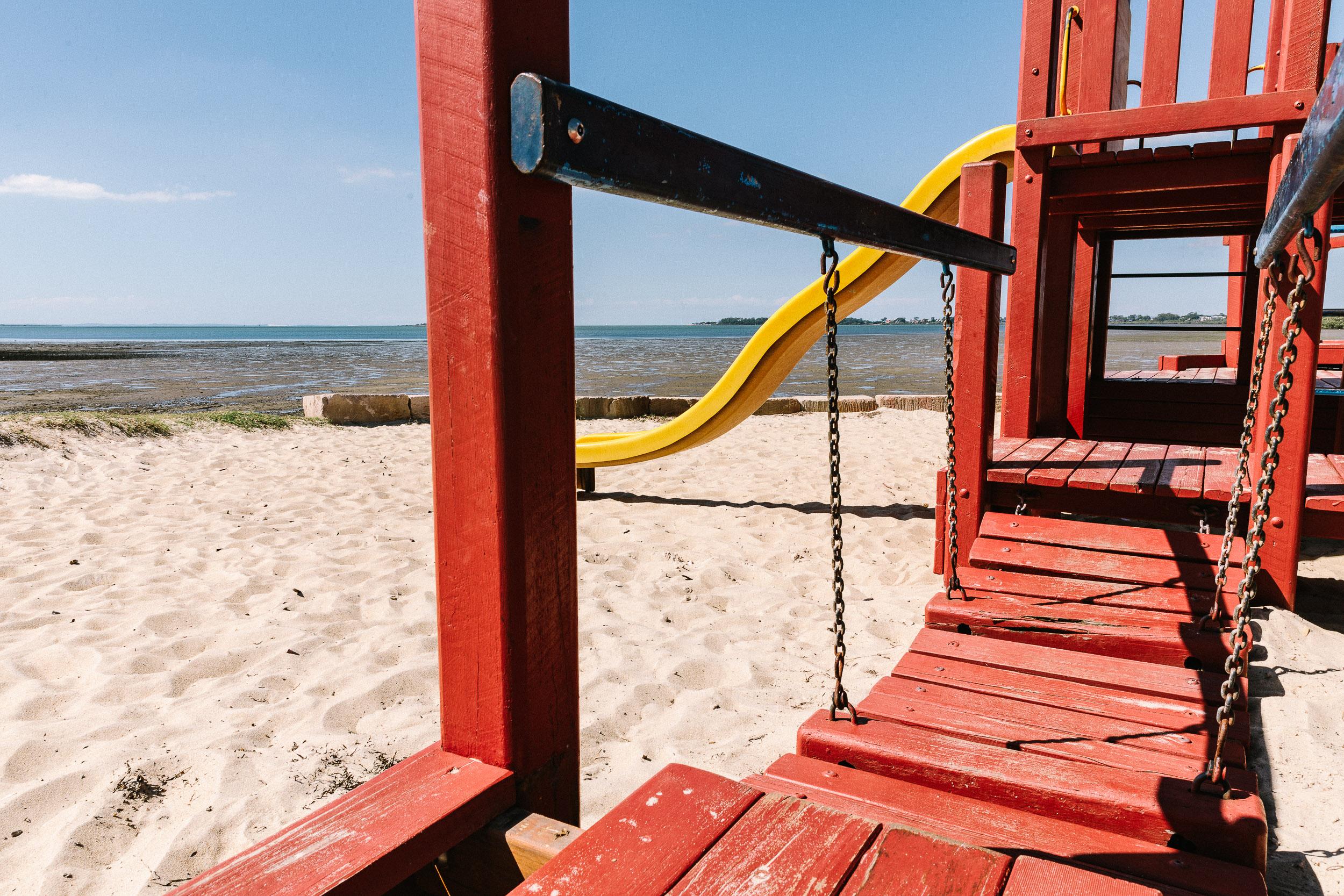 Pirate Playground Bridge