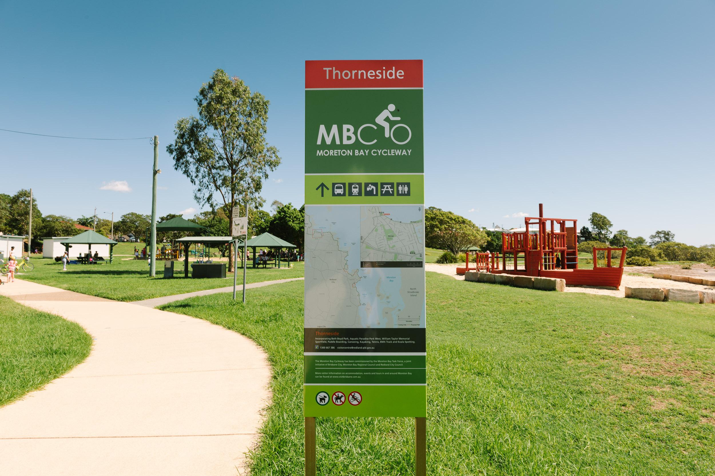 Beth Boyd Park Moreton Bay Cycleway