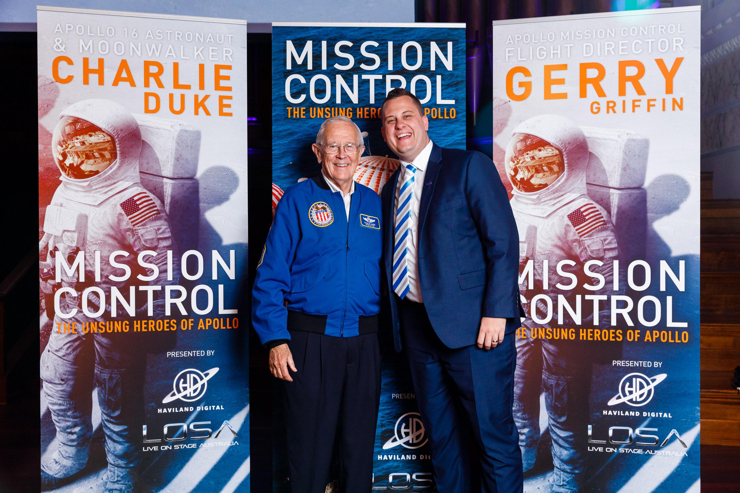 Mission Control The Unsung Heroes of Apollo Brisbane Town Hall 2018