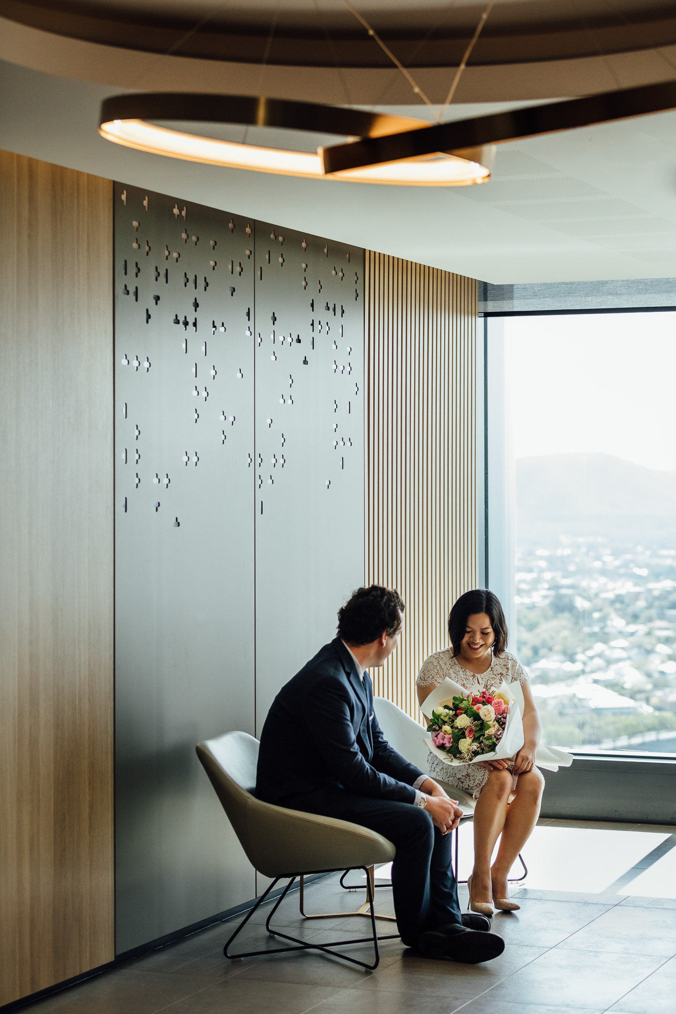 Brisbane Marriage Registry Foyer. Photo by Chris Jack