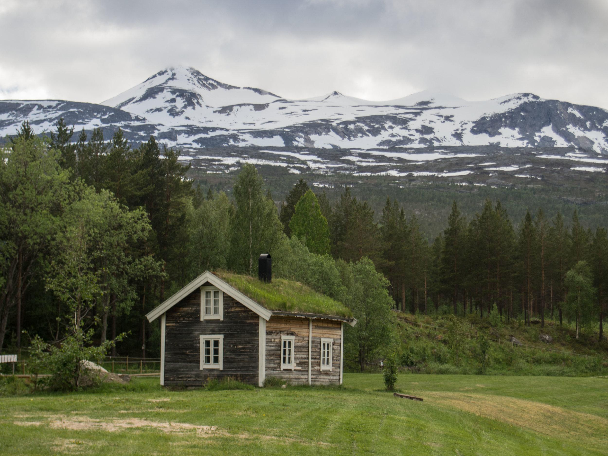 Stuga at Fulufjället National Park Hike
