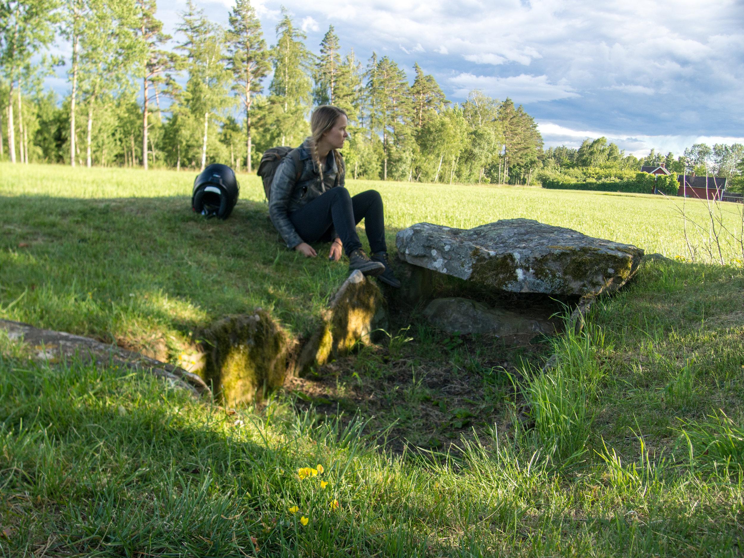 Ancient Viking Grave