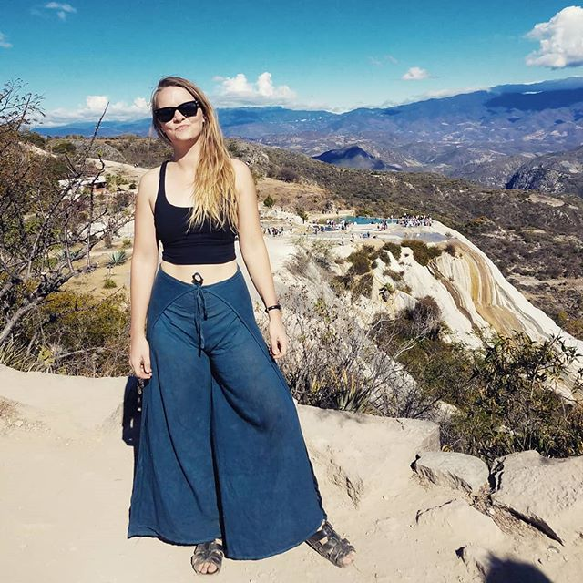 Hierve El Aqua in Oaxaca is one of the world's few petrified waterfalls. 🌊
