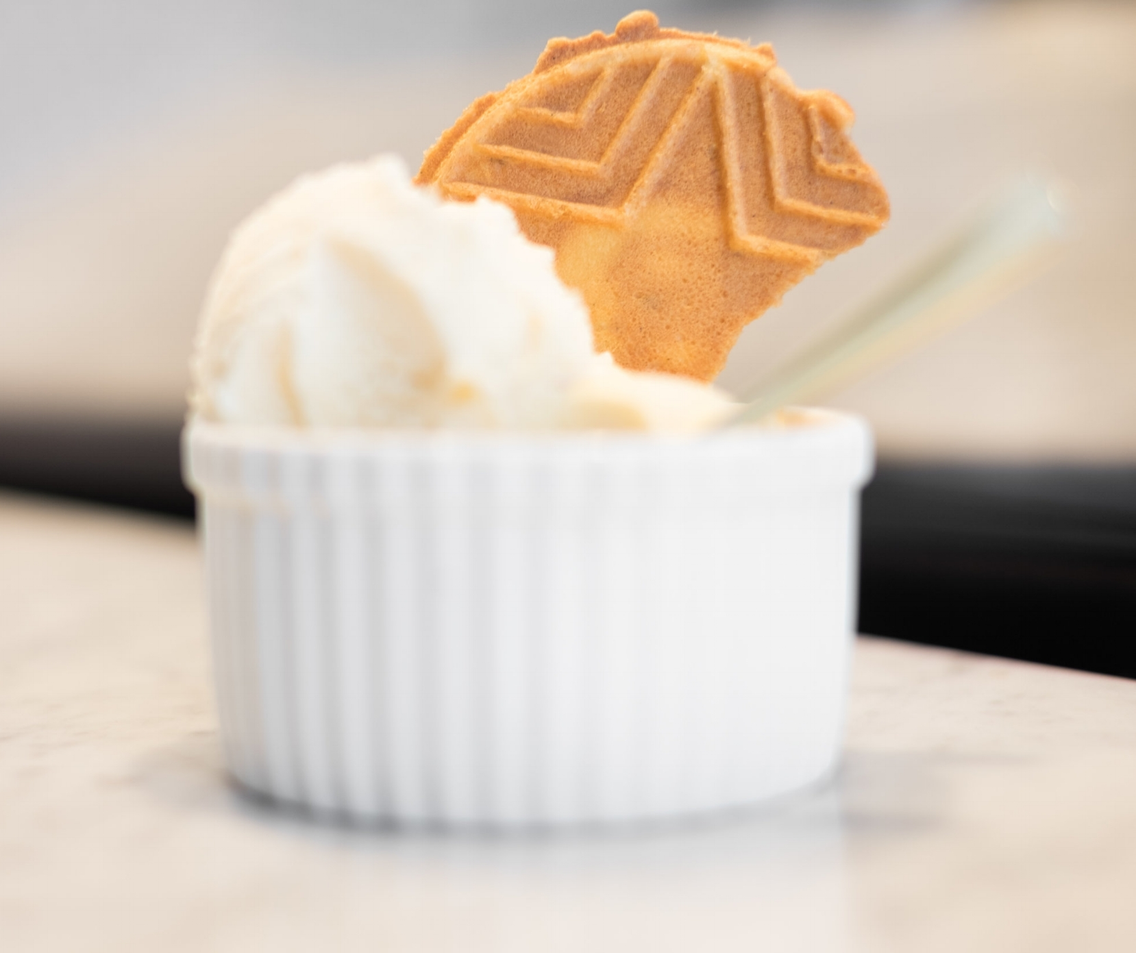 Pizzelles and Gelato at Gelateria Gemelli