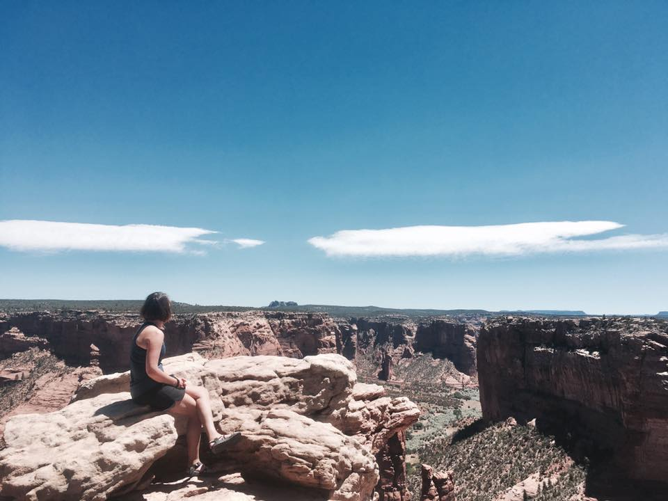 Viewing Spider Rock at Canyon de Chelly Photo Credit: Lydia Cooke