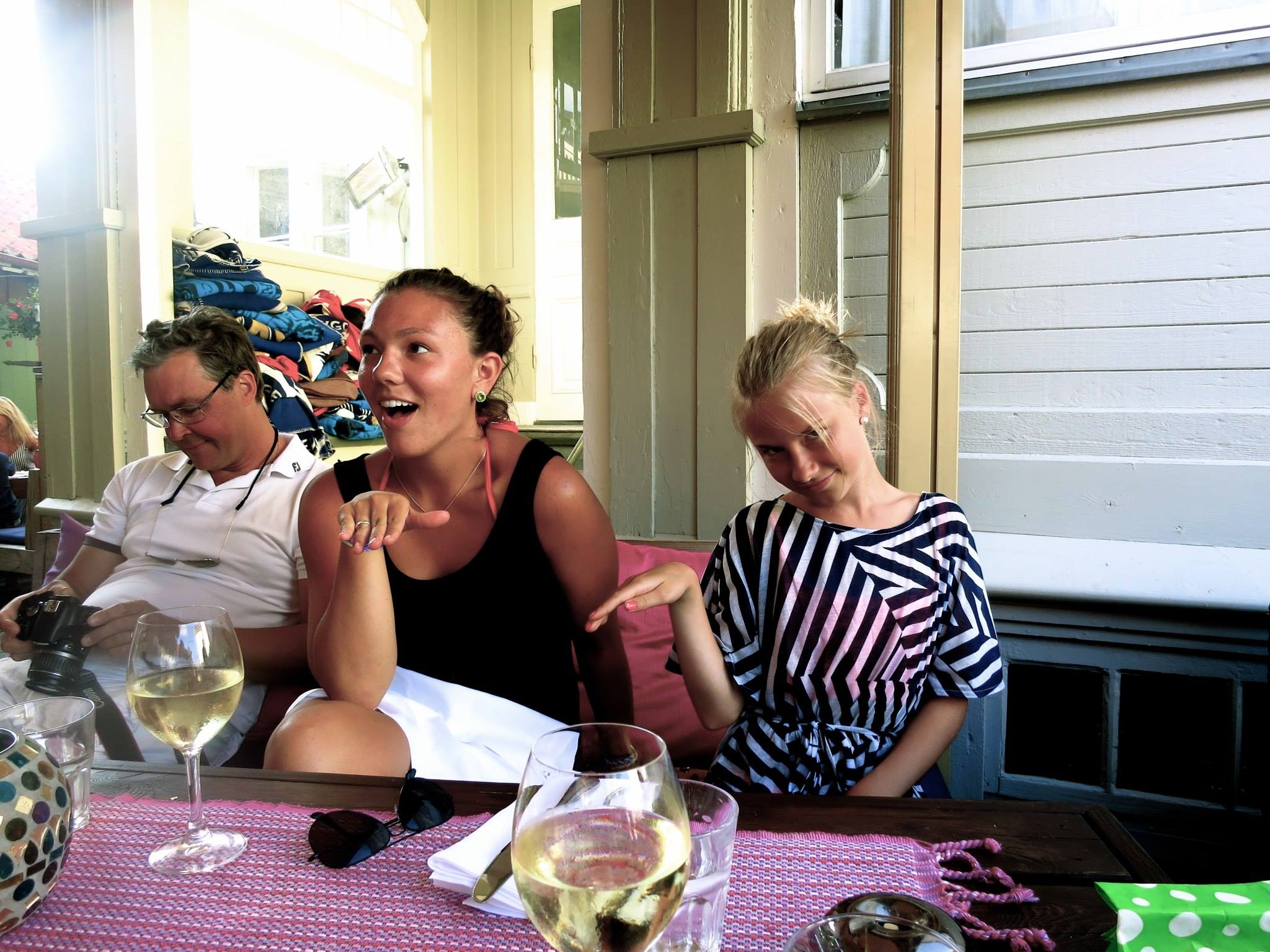 Marstrand, Sweden with cousins