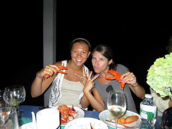 Lobster on the beach