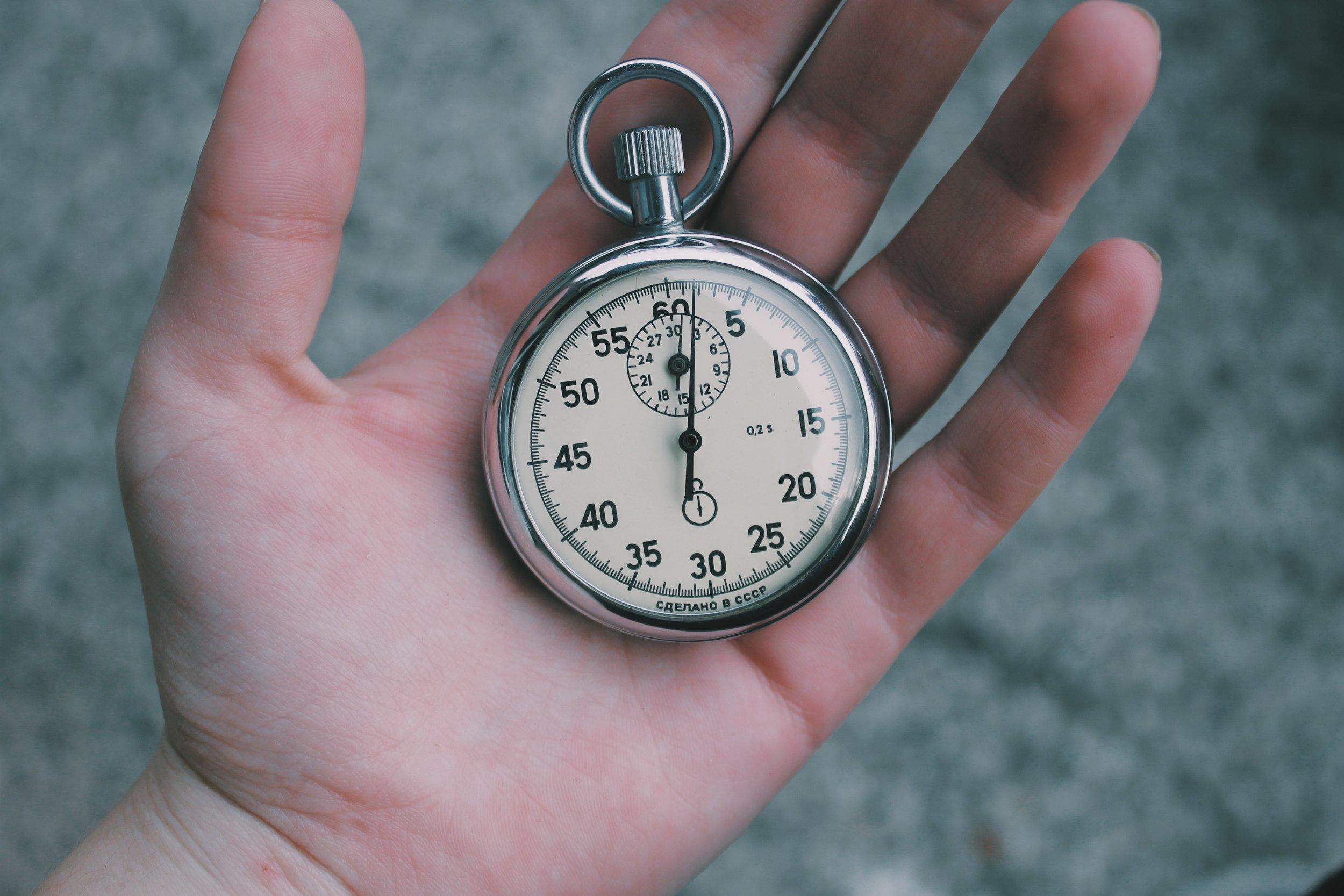 alarm for time spent on social media