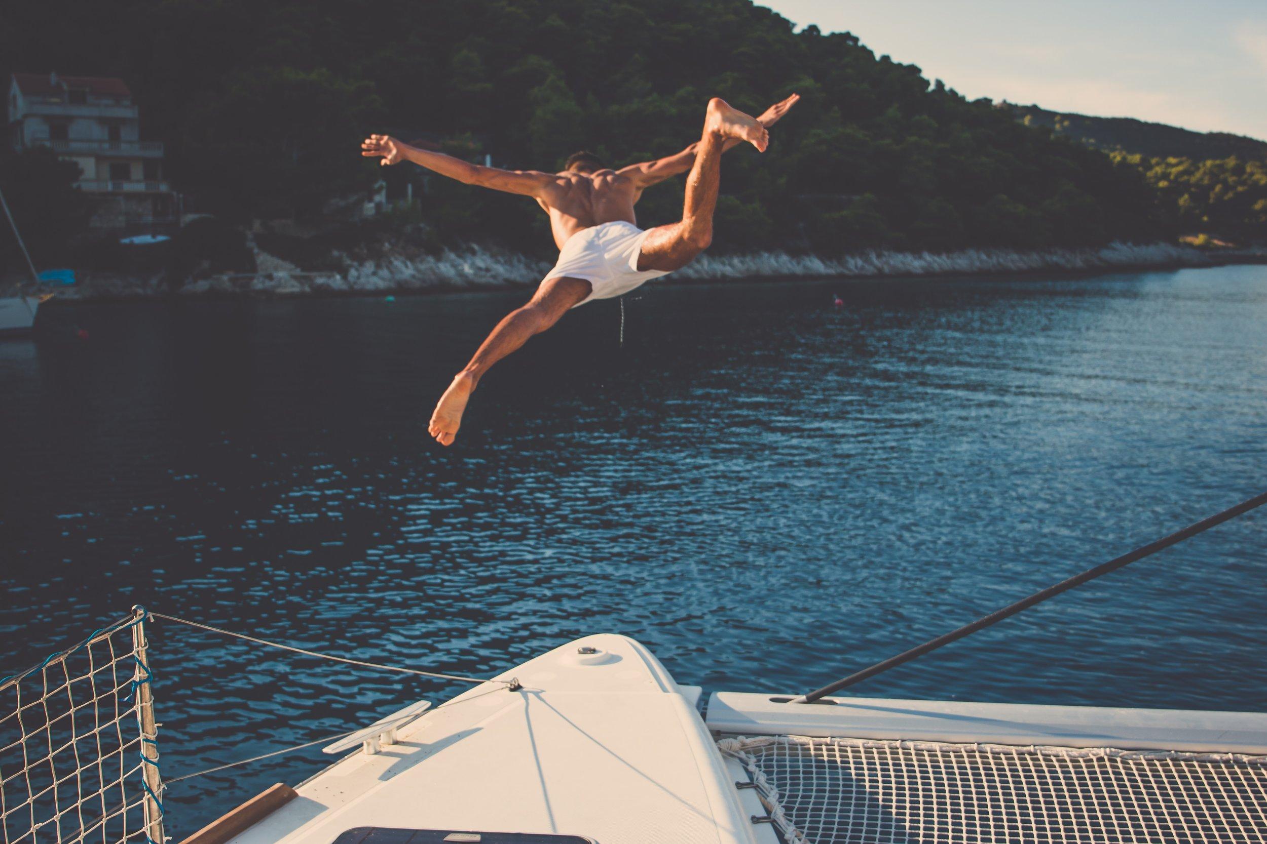 crazy dive
