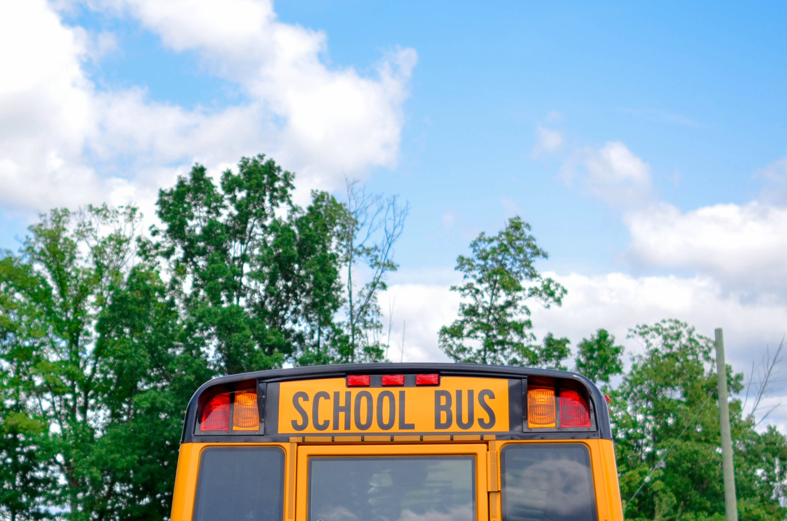 school bus in West LA