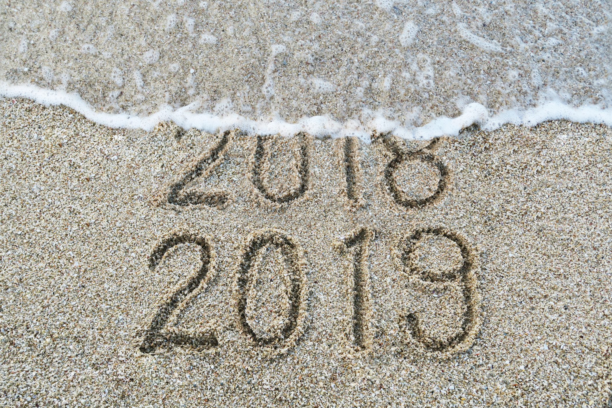 New Year's on Venice Beach