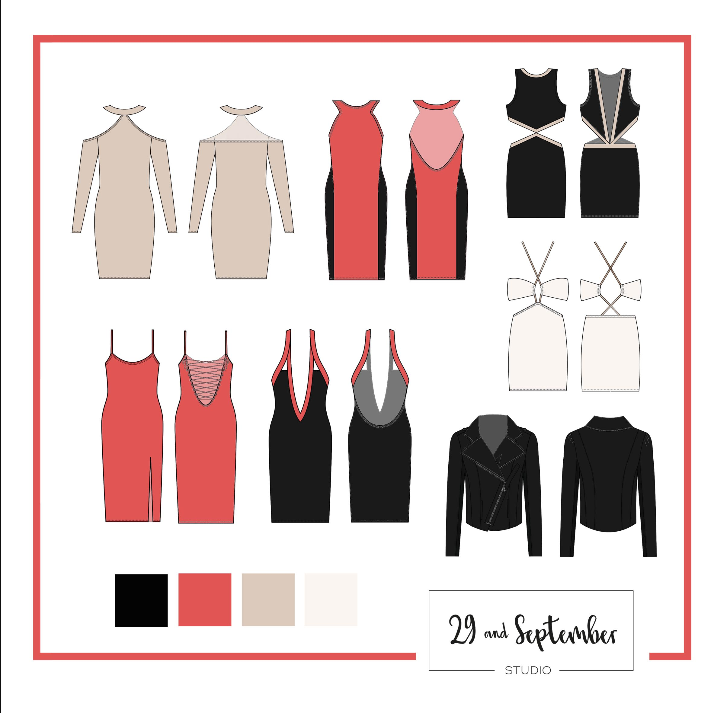 How many items should I have in my fashion range? Starting a fashion label