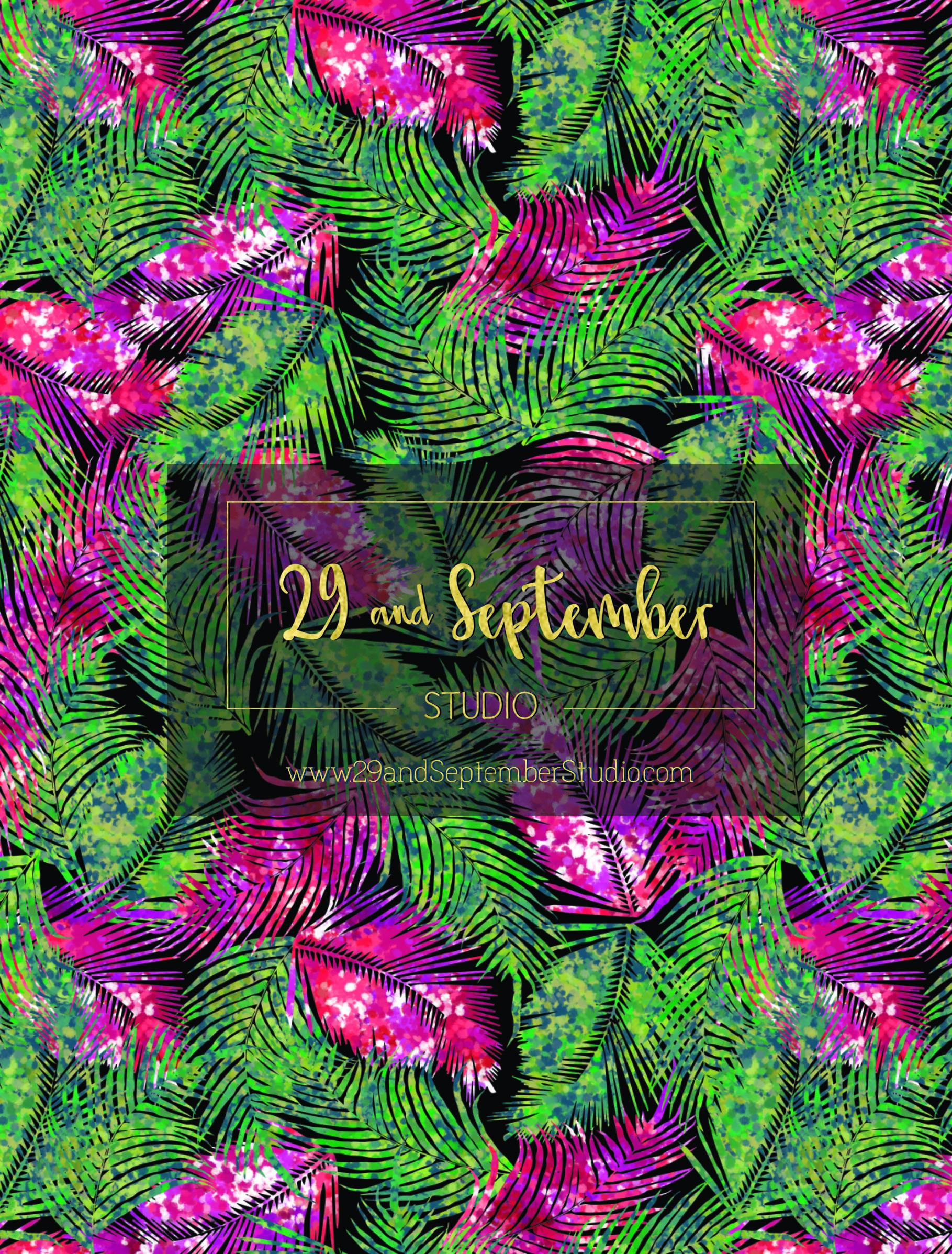 Textile print design by 29andSeptember Studio