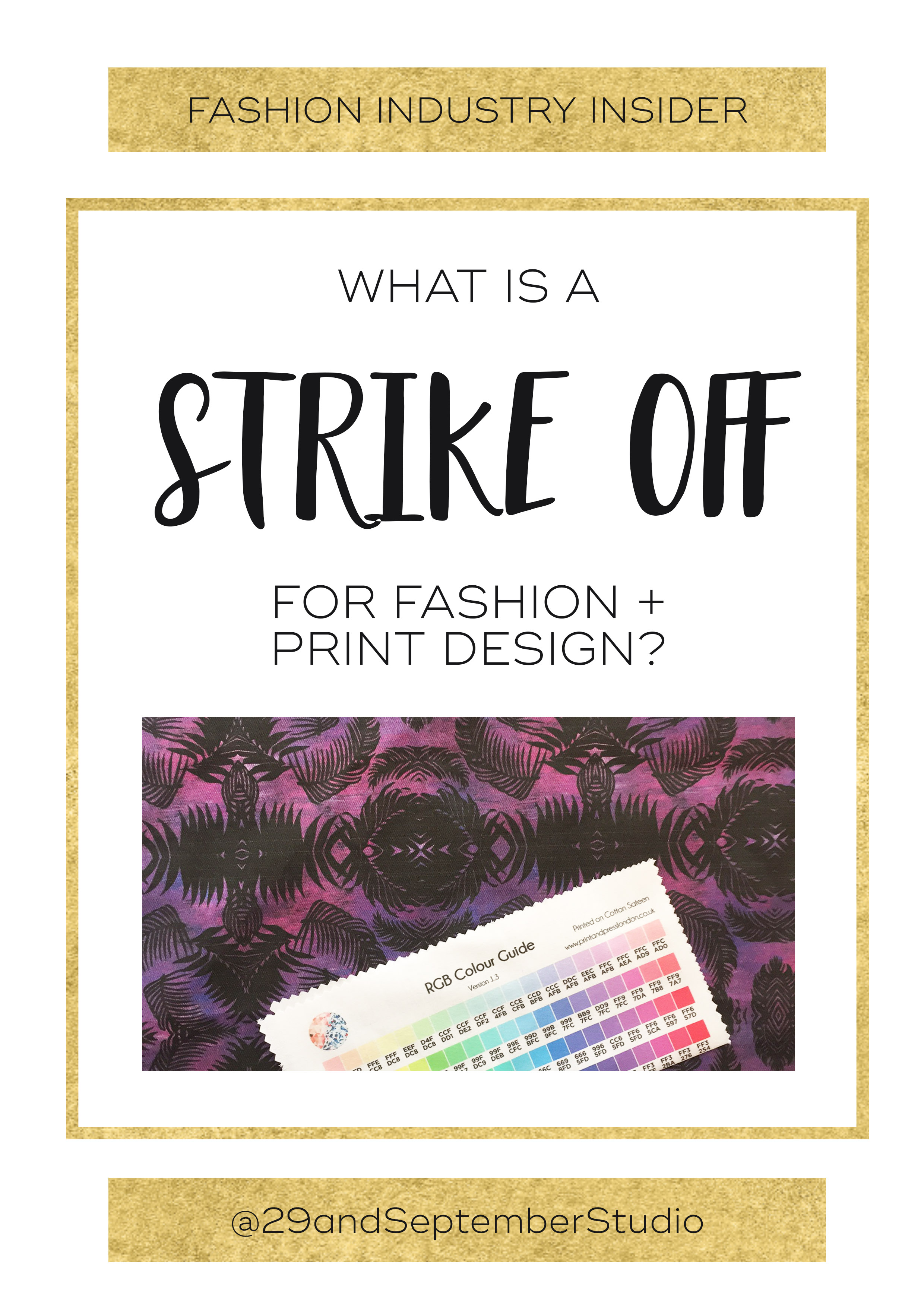 What is a strike off + why is it important for fashion + textile businesses