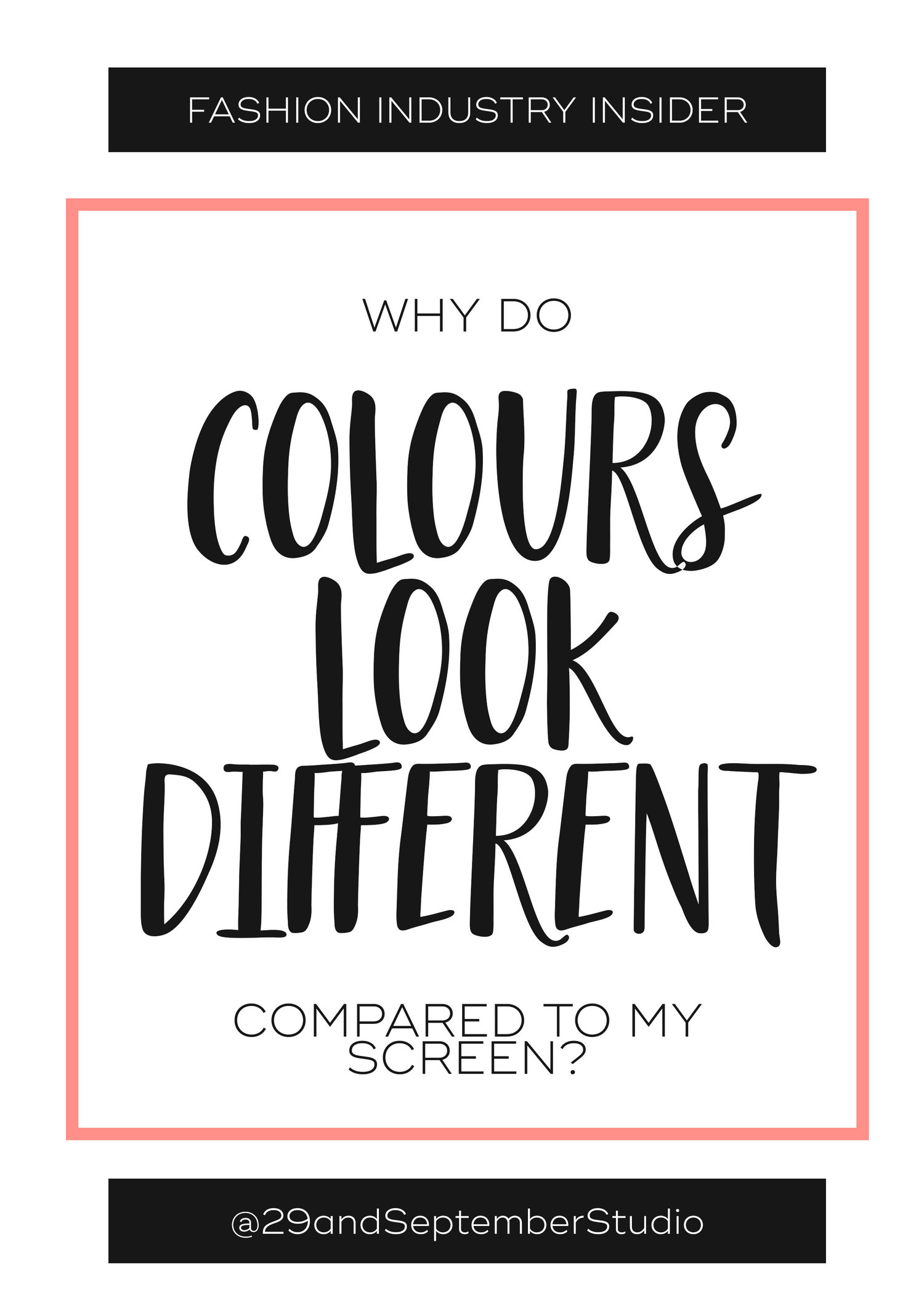 Why do colours appear different when fabric is printed or