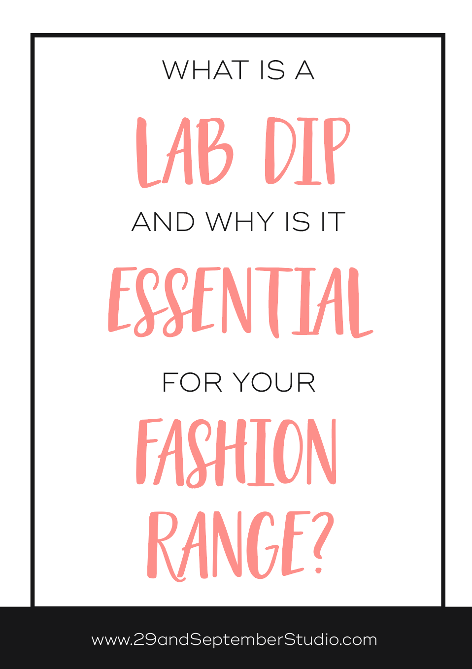 What is a lab dip and why do I need one for my fashion business | fabric dying lab dip | fashion design lab dip | fashion production and manufacturing