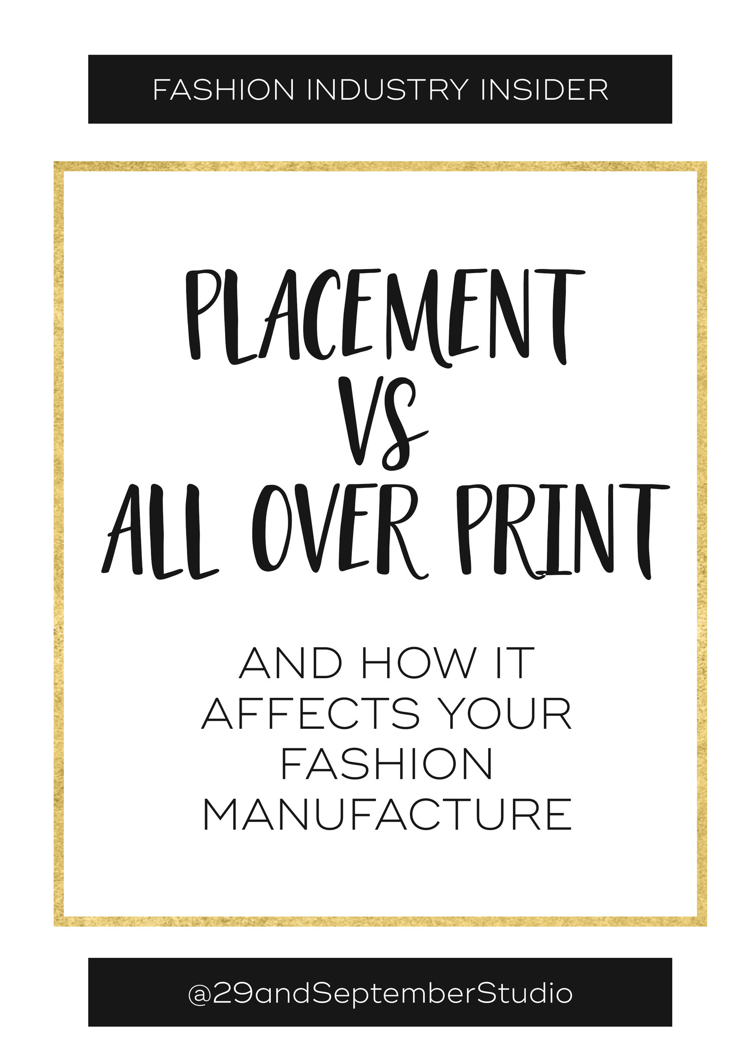 Placement Prints Vs All Over Prints And How They Affect Your Fashion Manufacture The Fashion Business Coach