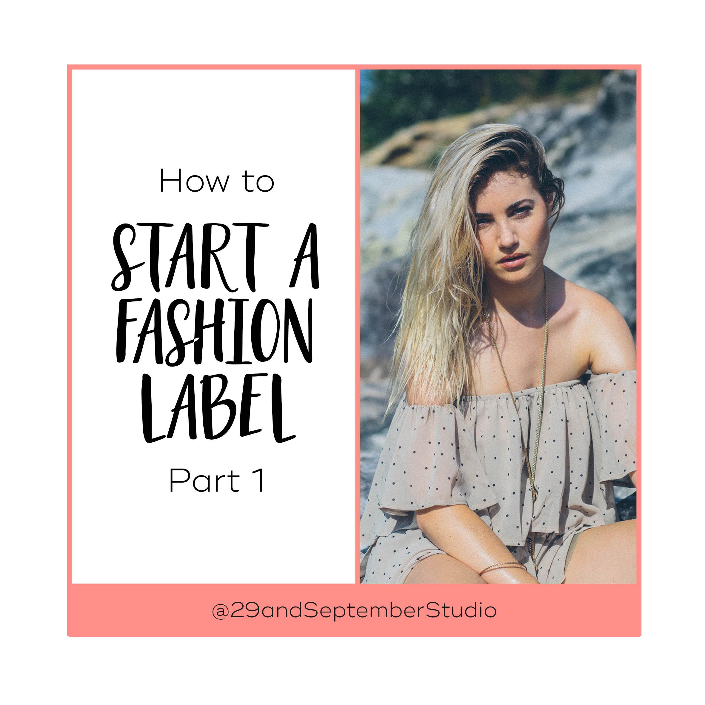 Start a brand