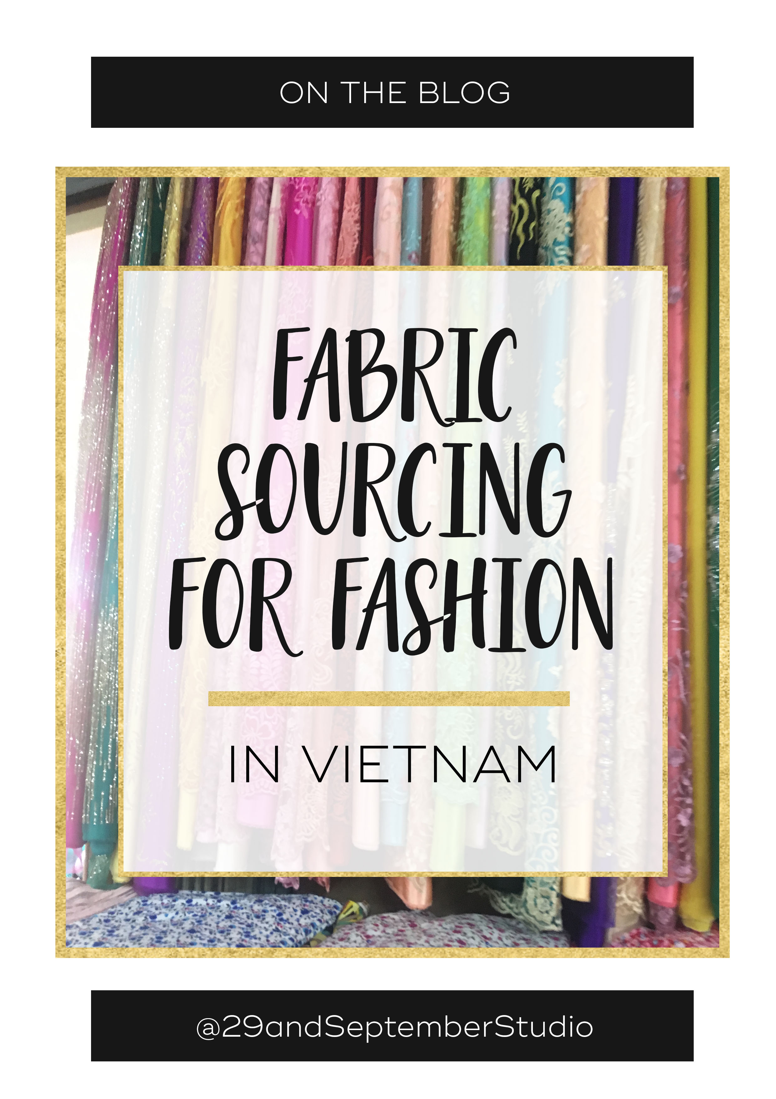 Sourcing fabric for clothing lines | Finding fabrics for your fashion brand | Supplier visits in Vietnam for fashion