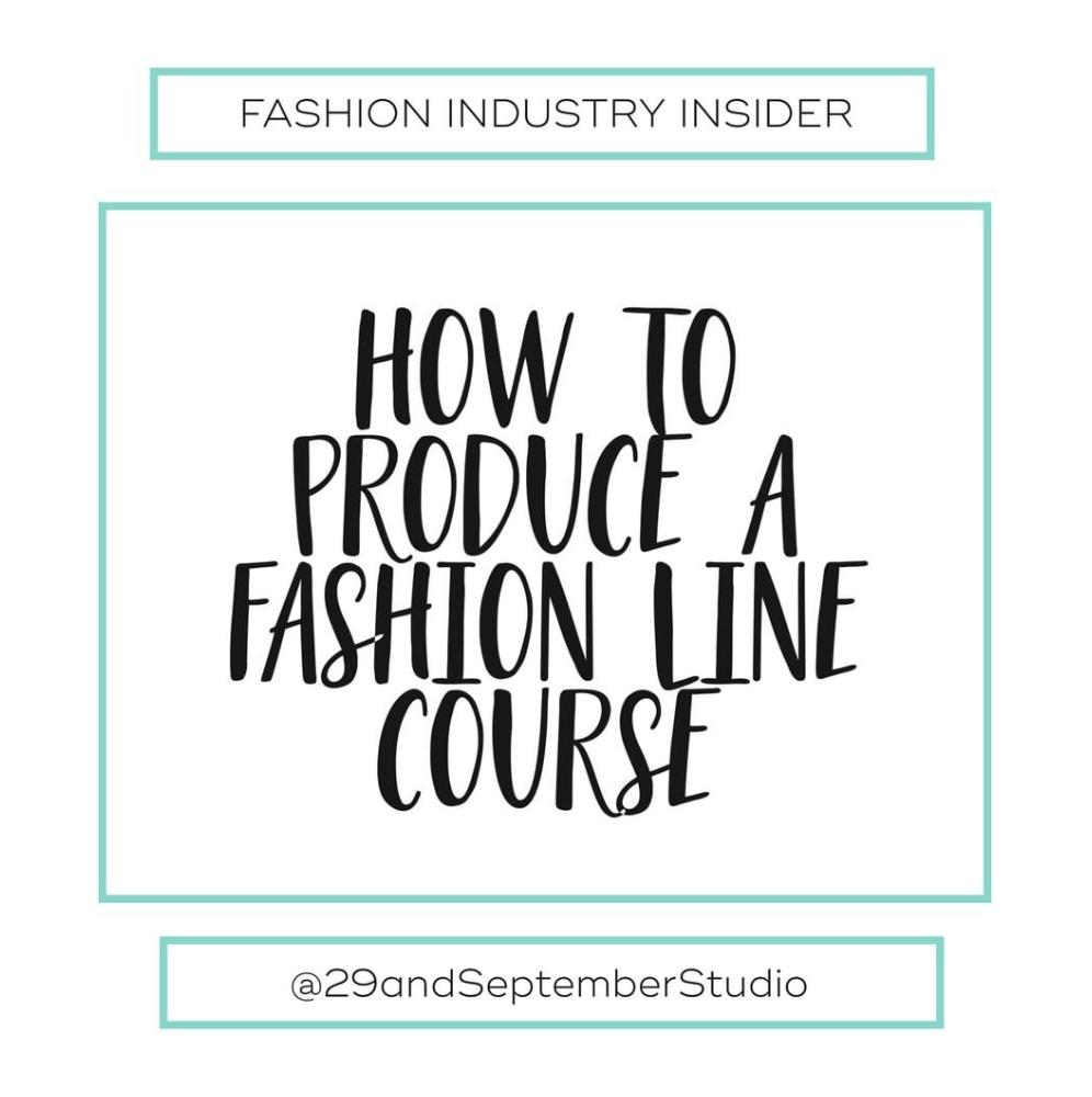 Fashion Startup Course