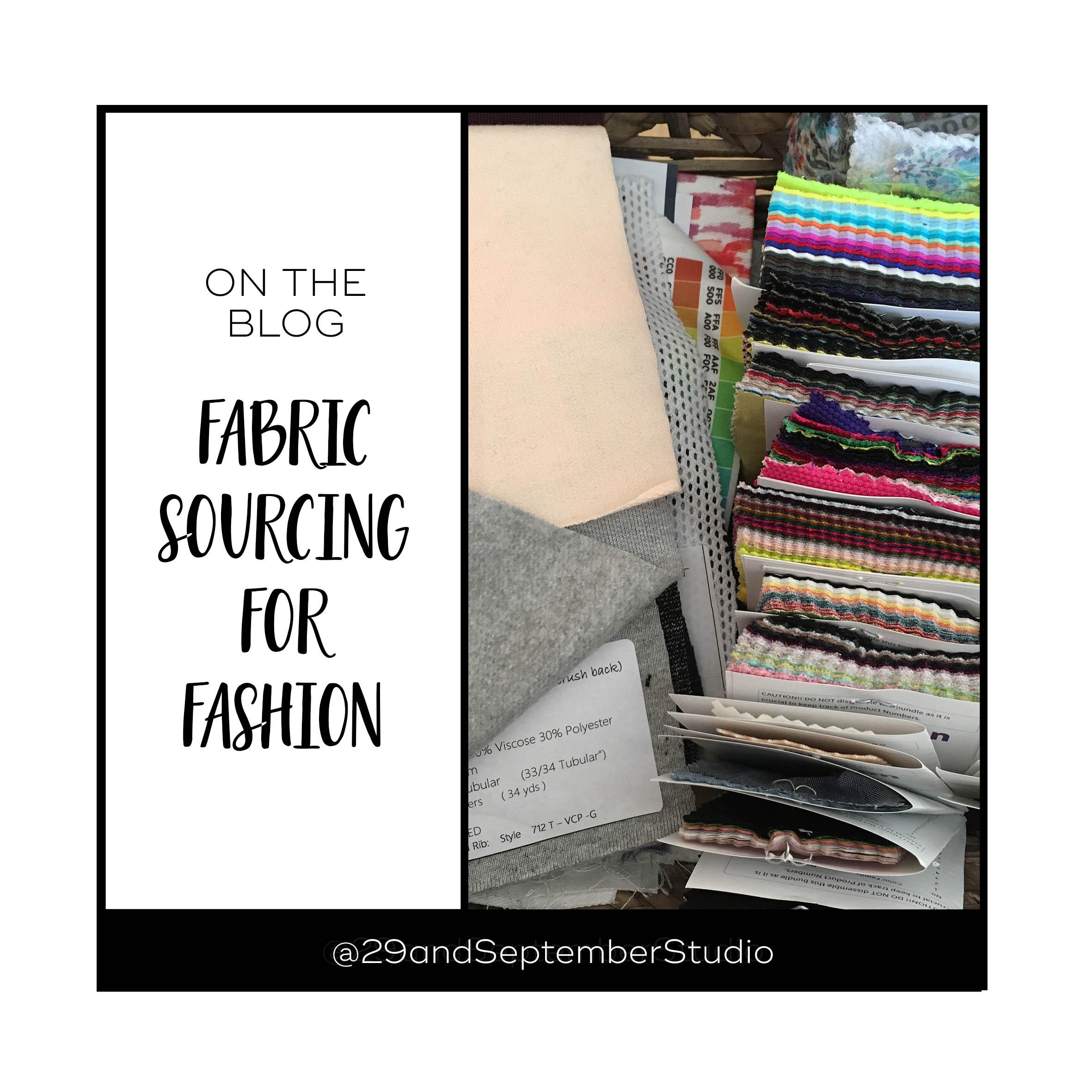 Sourcing fabrics