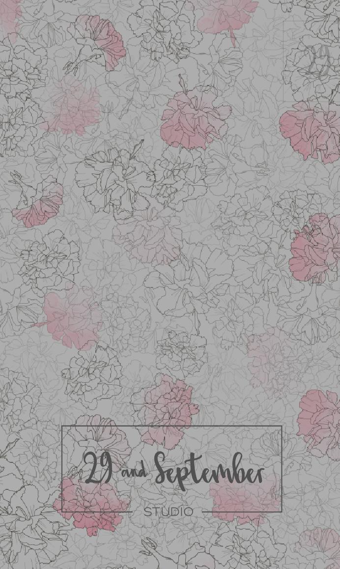 Women's print design from 29andSeptember Studio
