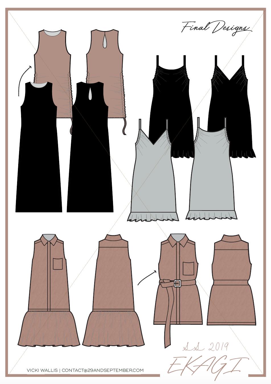 Sustainable fashion range from Ekagi