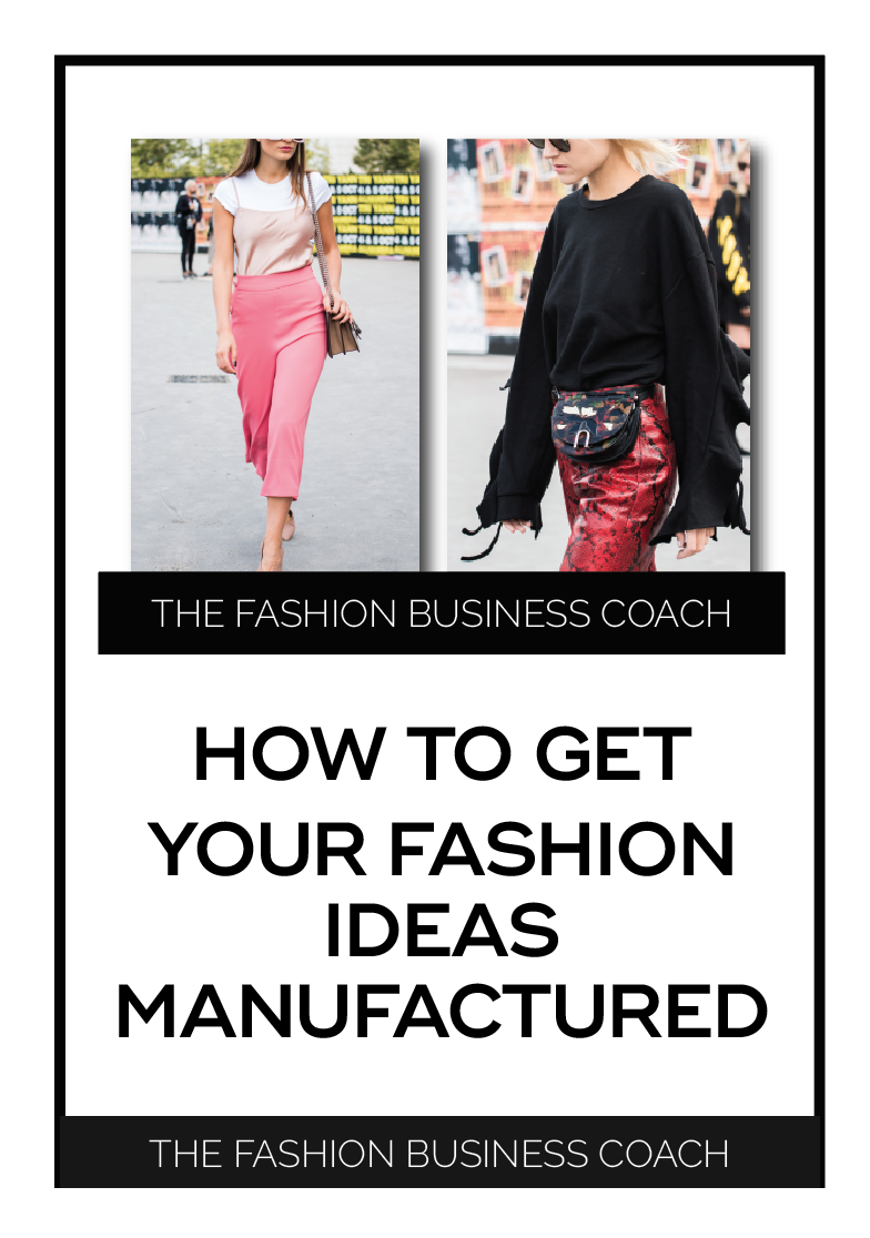 How To Get Your Fashion Ideas Produced Free Masterclass The Fashion Business Coach