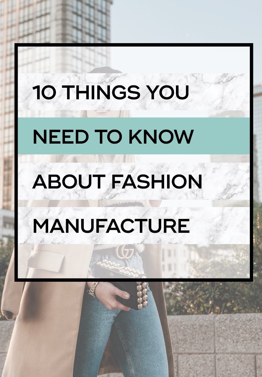 Clothing Production Terms Fashion Brands Need To Know The Fashion Business Coach