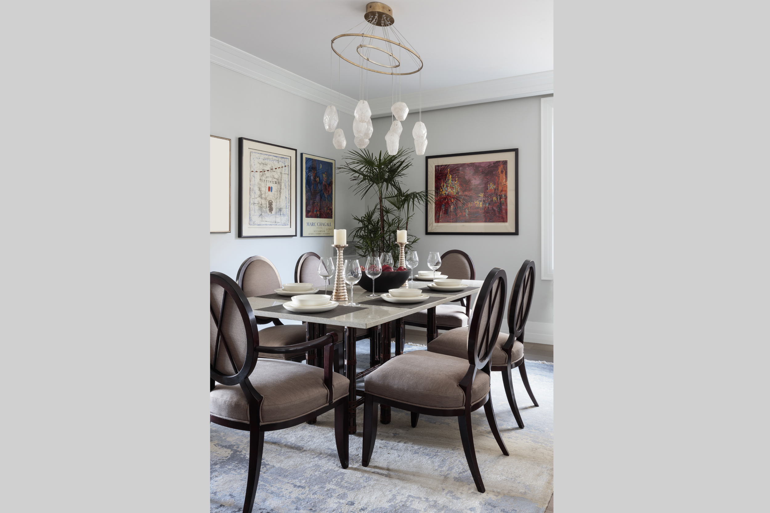 DESIGN415 | San Francisco Pacific Heights Dining Room Interior Design