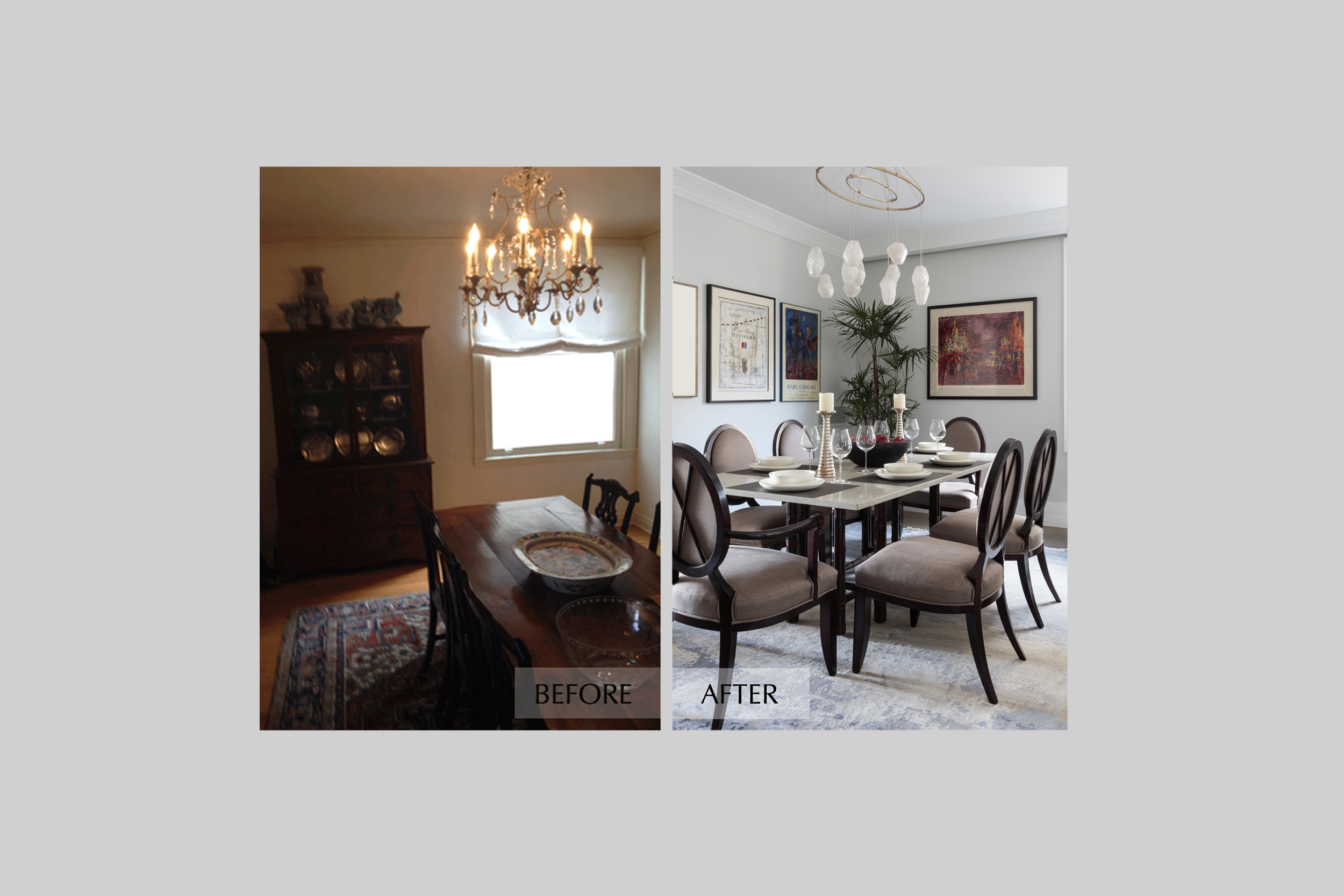 DESIGN415 | San Francisco Pacific Heights Before and After Dining Room Interior Design