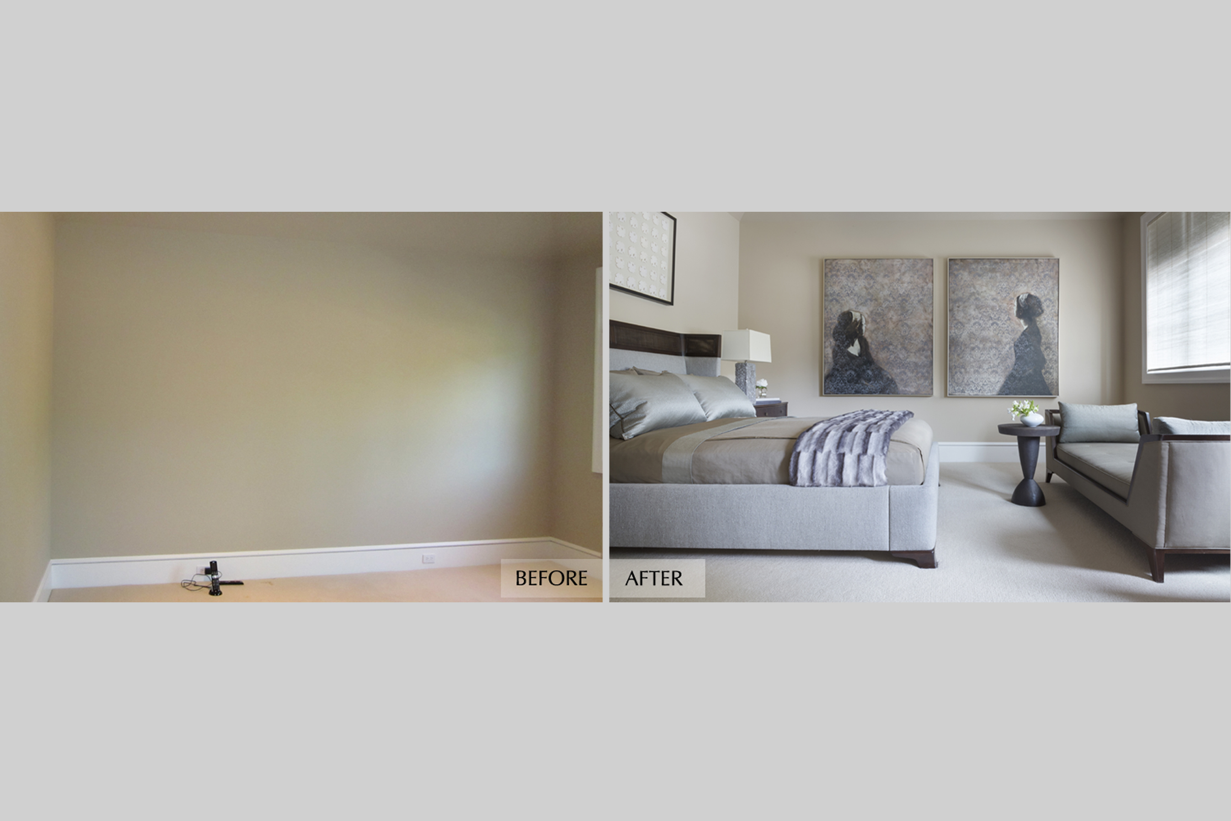 DESIGN415 | Atherton Guest Room Before and After Interior Design
