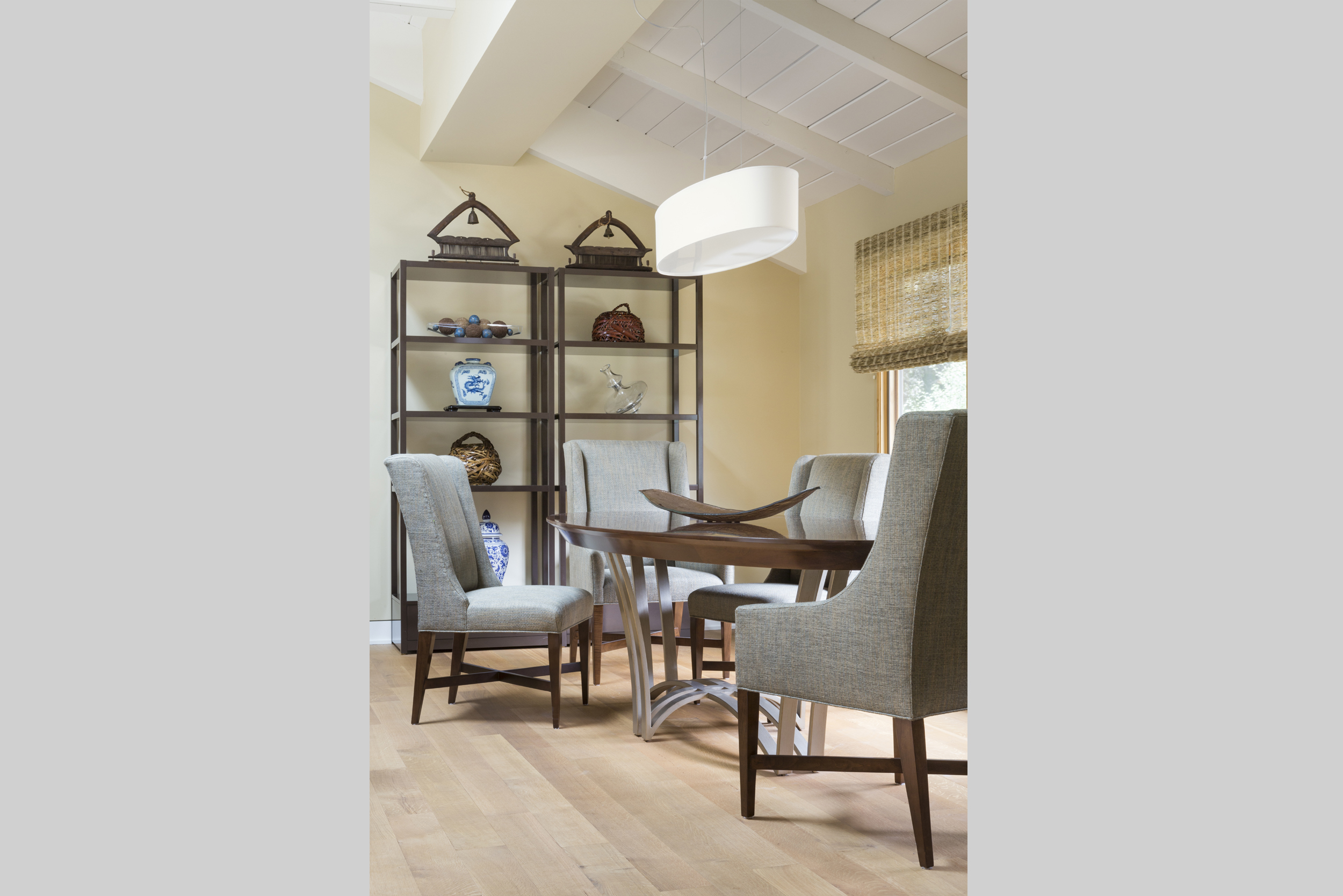 DESIGN415 | Atherton Dining Room Interior Design and Decorating