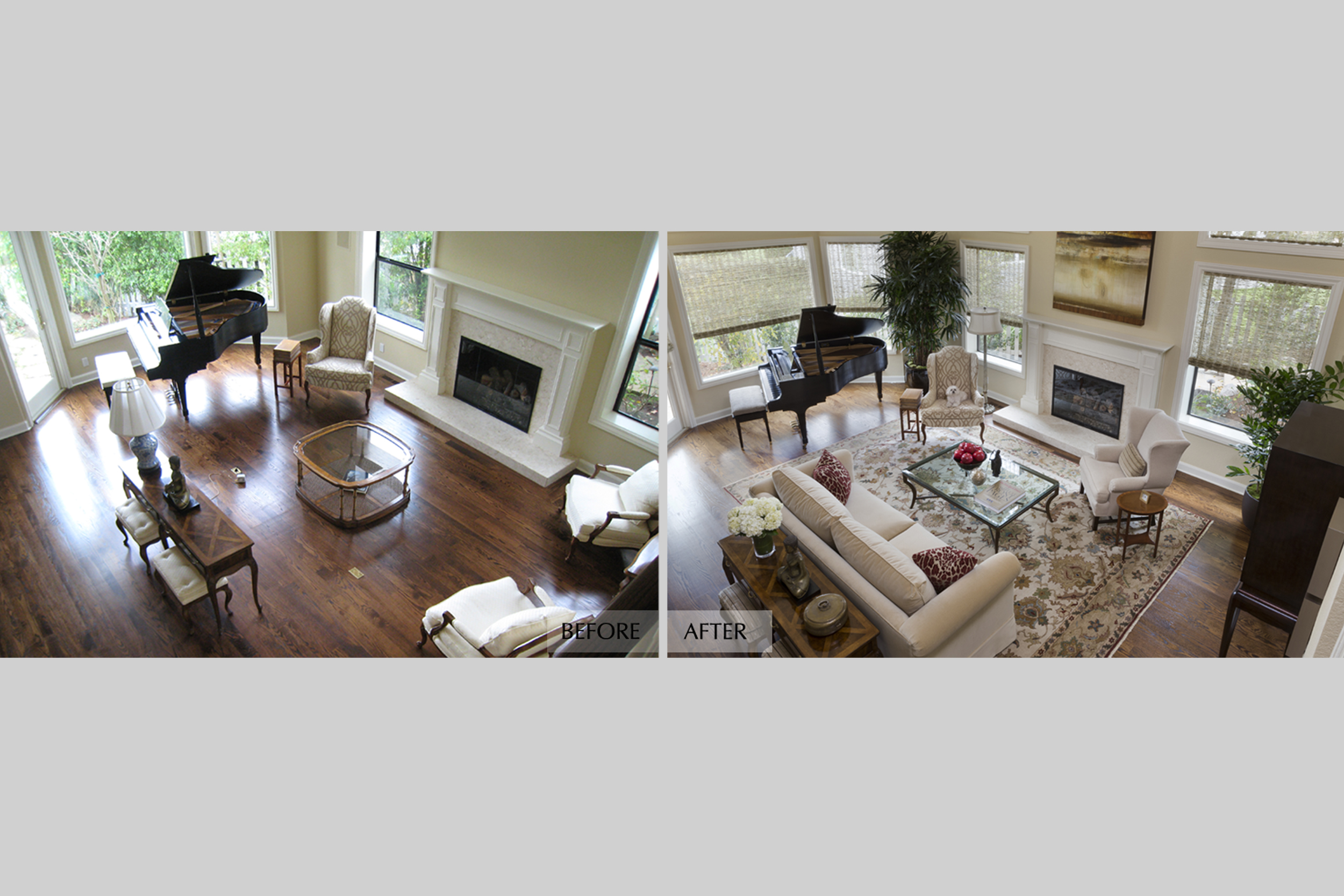 DESIGN415 | Before and After Half Moon Bay Redesign